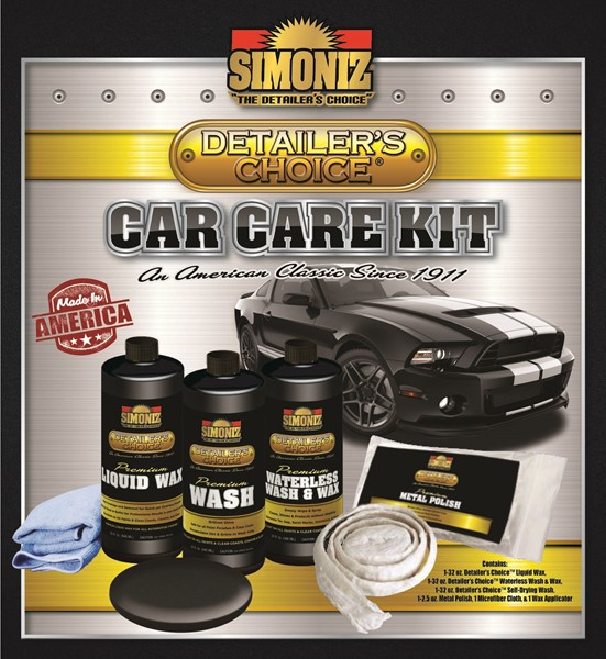 Simoniz Detailer's Choice Car Care Kit