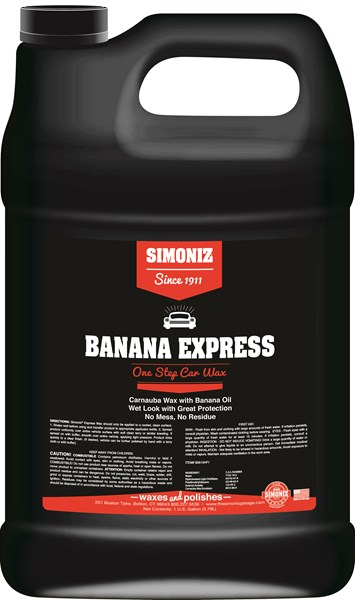 Simoniz Banana Express Liquid Wax