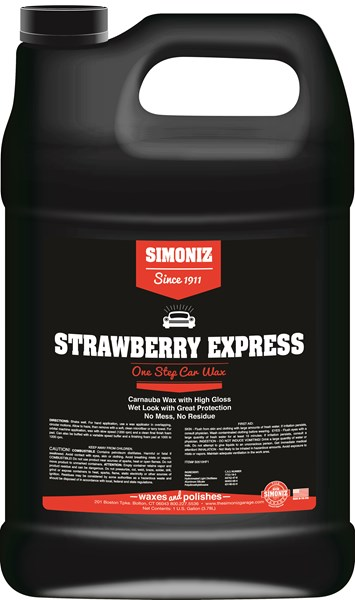 Simoniz Strawberry Express Liquid Wax